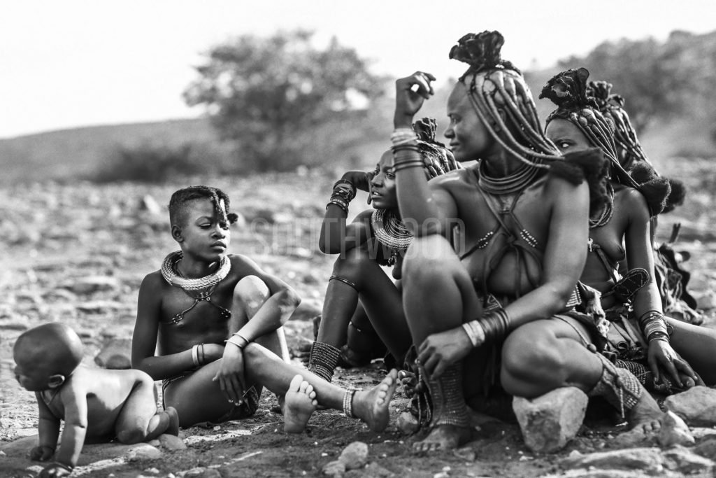 Himba Family - © Dave Southwood